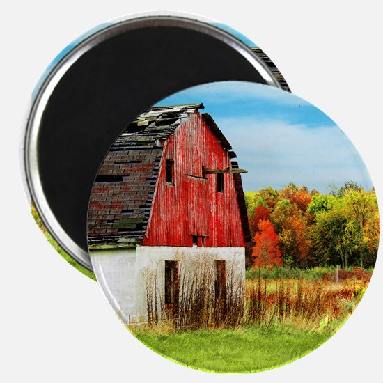Big Old Red Barn Magnet