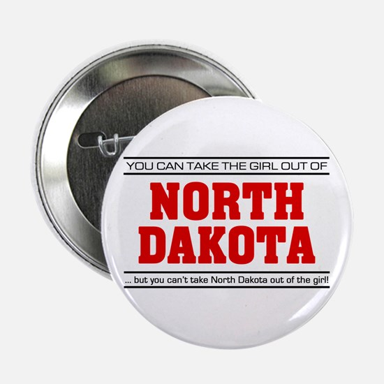 "'Girl From North Dakota' 2.25"" Button"