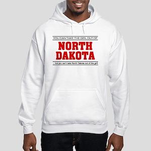 'Girl From North Dakota' Hooded Sweatshirt