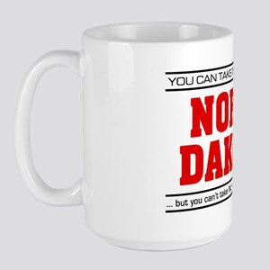 'Girl From North Dakota' Large Mug