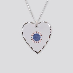 Retired American Necklace Heart Charm
