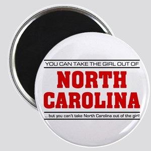 'Girl From North Carolina' Magnet