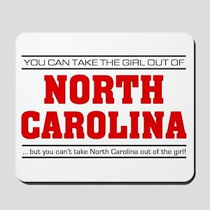 'Girl From North Carolina' Mousepad