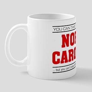 'Girl From North Carolina' Mug