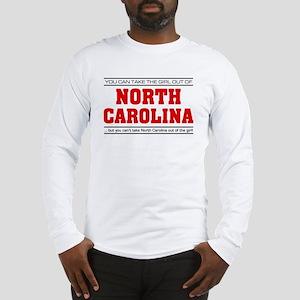 'Girl From North Carolina' Long Sleeve T-Shirt