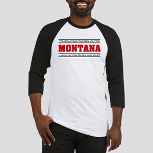 'Girl From Montana' Baseball Jersey