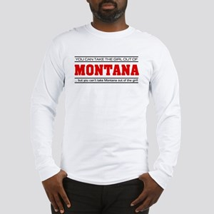 'Girl From Montana' Long Sleeve T-Shirt