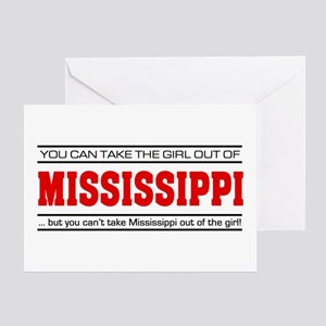 'Girl From Mississippi' Greeting Card