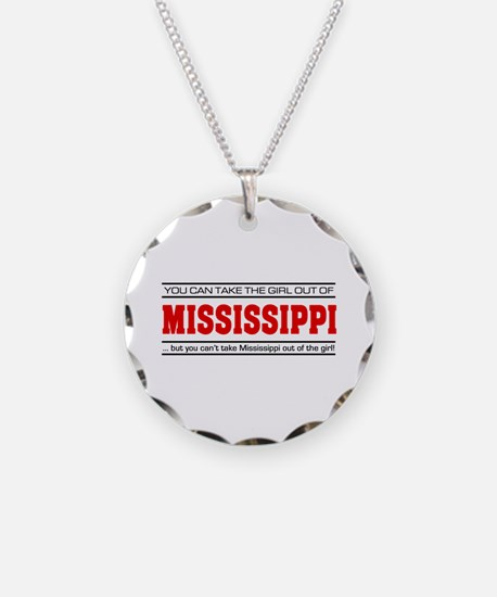 'Girl From Mississippi' Necklace