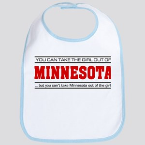 'Girl From Minnesota' Bib