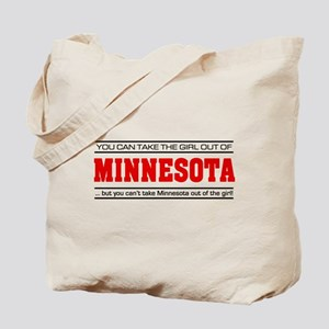 'Girl From Minnesota' Tote Bag