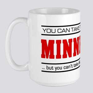 'Girl From Minnesota' Large Mug