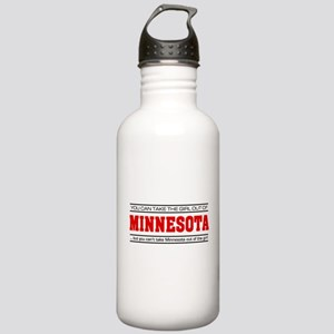 'Girl From Minnesota' Stainless Water Bottle 1.0L