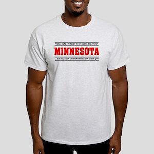 'Girl From Minnesota' Light T-Shirt