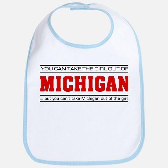 'Girl From Michigan' Bib