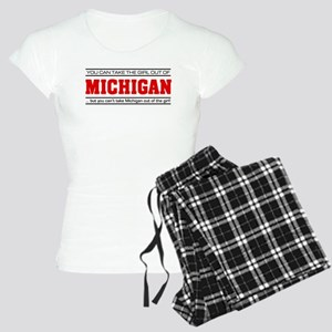 'Girl From Michigan' Women's Light Pajamas