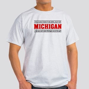 'Girl From Michigan' Light T-Shirt