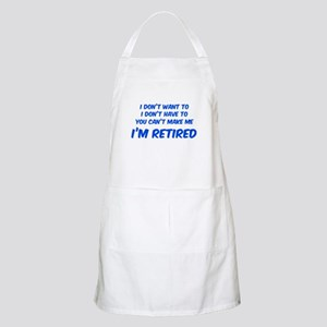 I'm Retired Apron