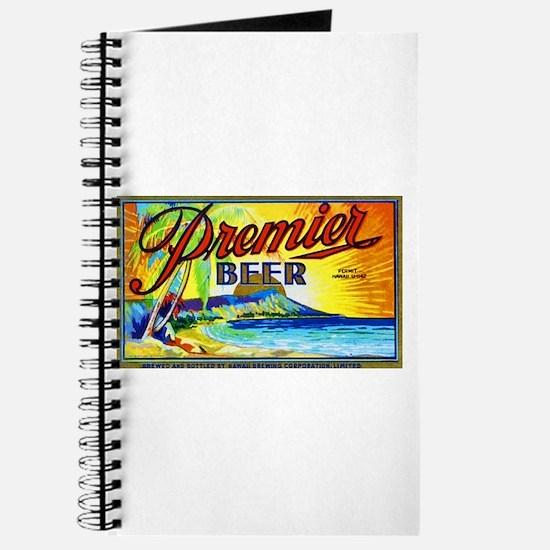 Hawaii Beer Label 3 Journal