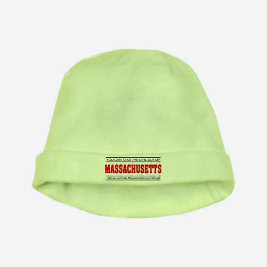 'Girl From Massachusetts' baby hat