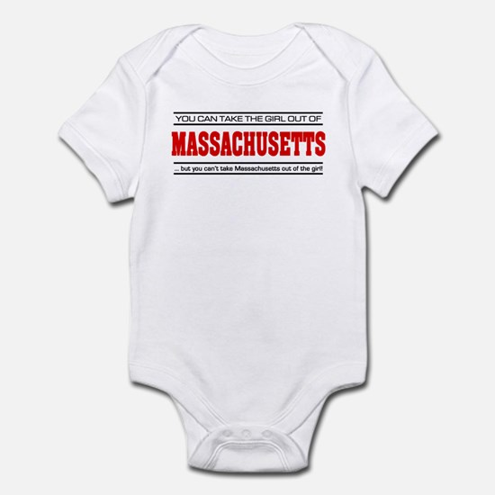 'Girl From Massachusetts' Infant Bodysuit