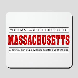 'Girl From Massachusetts' Mousepad