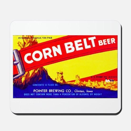 Iowa Beer Label 7 Mousepad