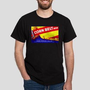 Iowa Beer Label 7 Dark T-Shirt