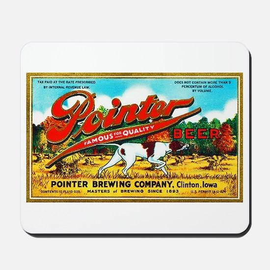 Iowa Beer Label 6 Mousepad
