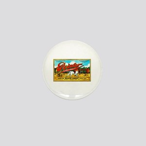 Iowa Beer Label 6 Mini Button