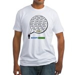 Occupy Wall Street Jobs, Jobs Fitted T-Shirt