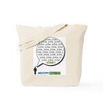 Occupy Wall Street Jobs, Jobs Tote Bag