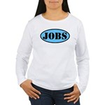 Occupy Wall Street Job Women's Long Sleeve T-Shirt