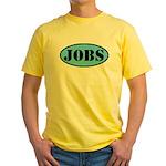 Occupy Wall Street Job Yellow T-Shirt