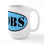 Occupy Wall Street Job Large Mug