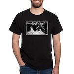 Billy Gout Gruff Black T-Shirt