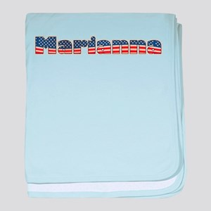 American Marianna baby blanket