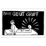Billy Gout Gruff Large Poster