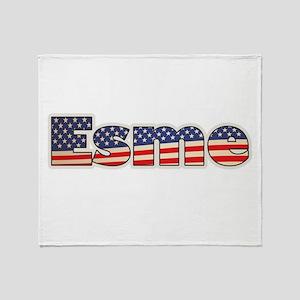 American Esme Throw Blanket