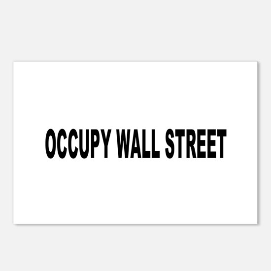 Occupy Wall Street: Postcards (Package of 8)