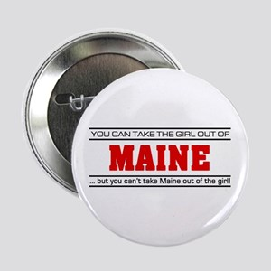 "'Girl From Maine' 2.25"" Button"