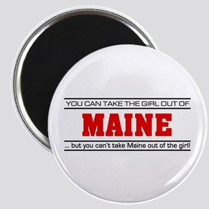 'Girl From Maine' Magnet