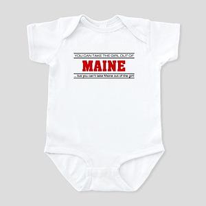 'Girl From Maine' Infant Bodysuit