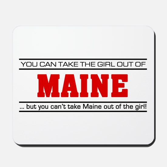 'Girl From Maine' Mousepad