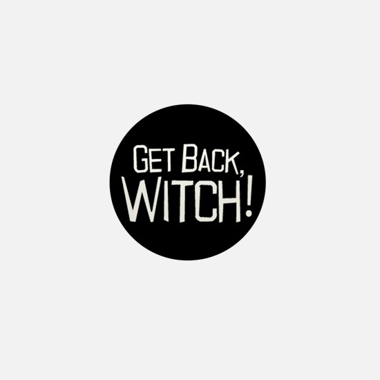 Get Back Witch Mini Button