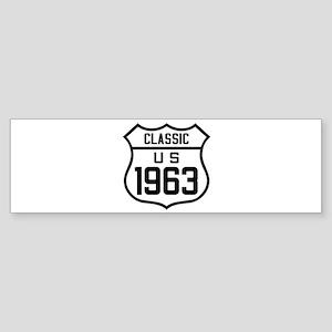 Classic US 1963 Bumper Sticker