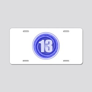 13th Birthday Boy Aluminum License Plate