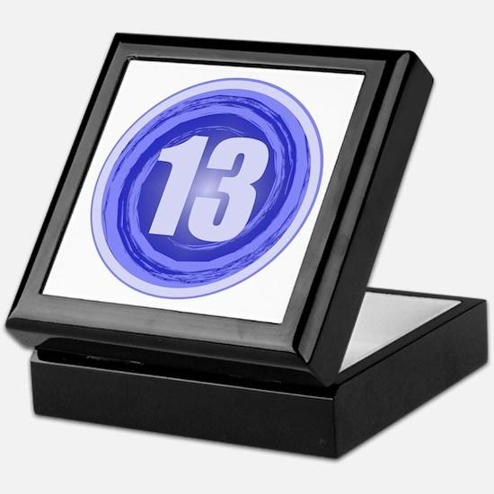 13th Birthday Boy Keepsake Box
