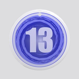 13th Birthday Boy Ornament (Round)