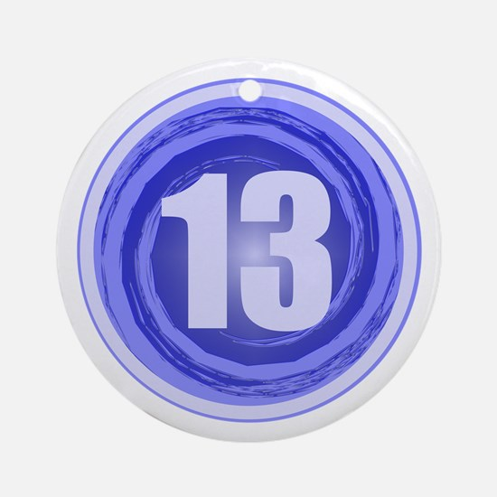 13th Birthday Boy Ornament (Round)